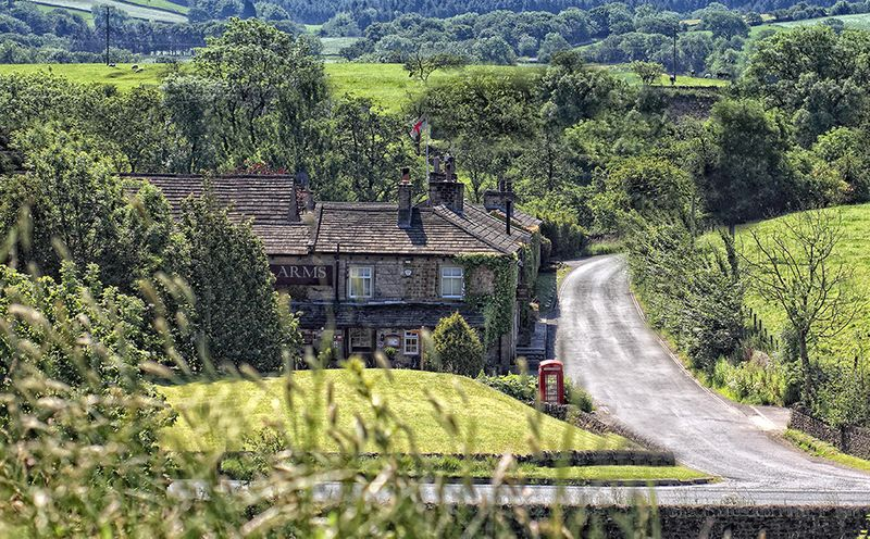 Picture of Tempest Arms in the rolling Yorkshire Countryside