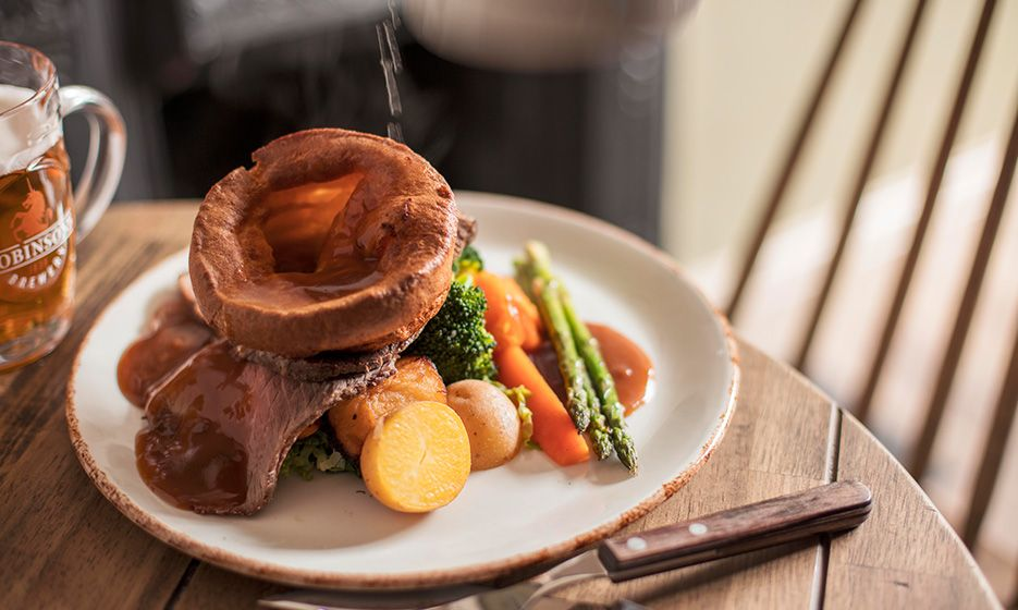 One of the best Sunday roasts near Yorkshire Dales