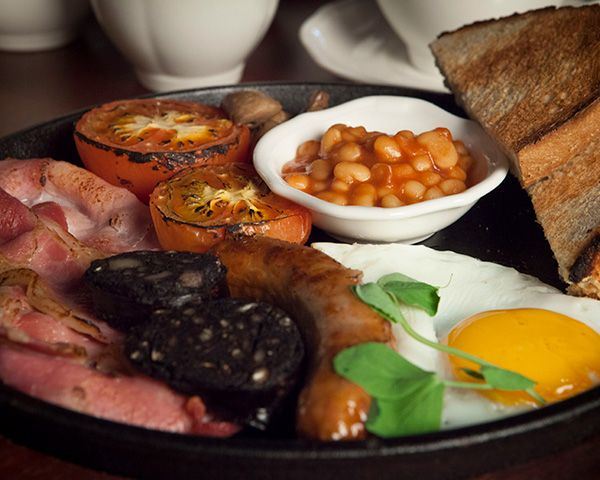 A Full Cooked breakfast at the Tempest Arms